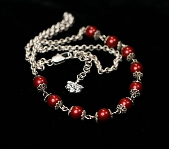 Sweet cherries necklace